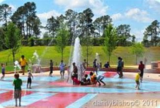 Playgrounds and Splash pads